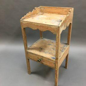 George III Pine Side Table