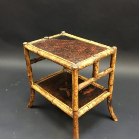 Victorian Bamboo Side Table