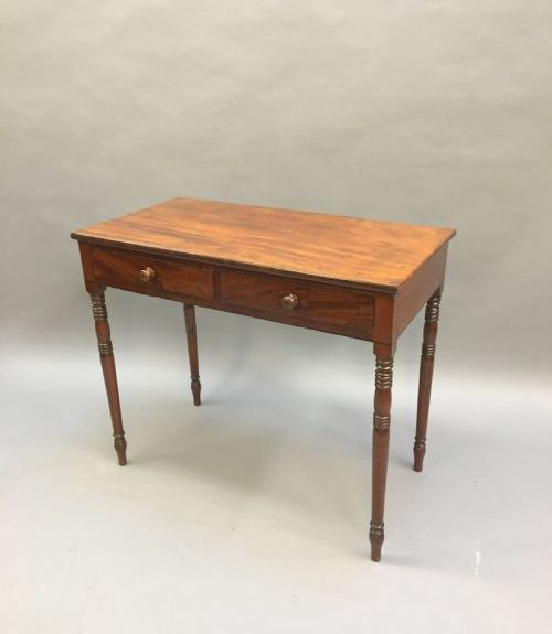 Victorian Writing Side Table